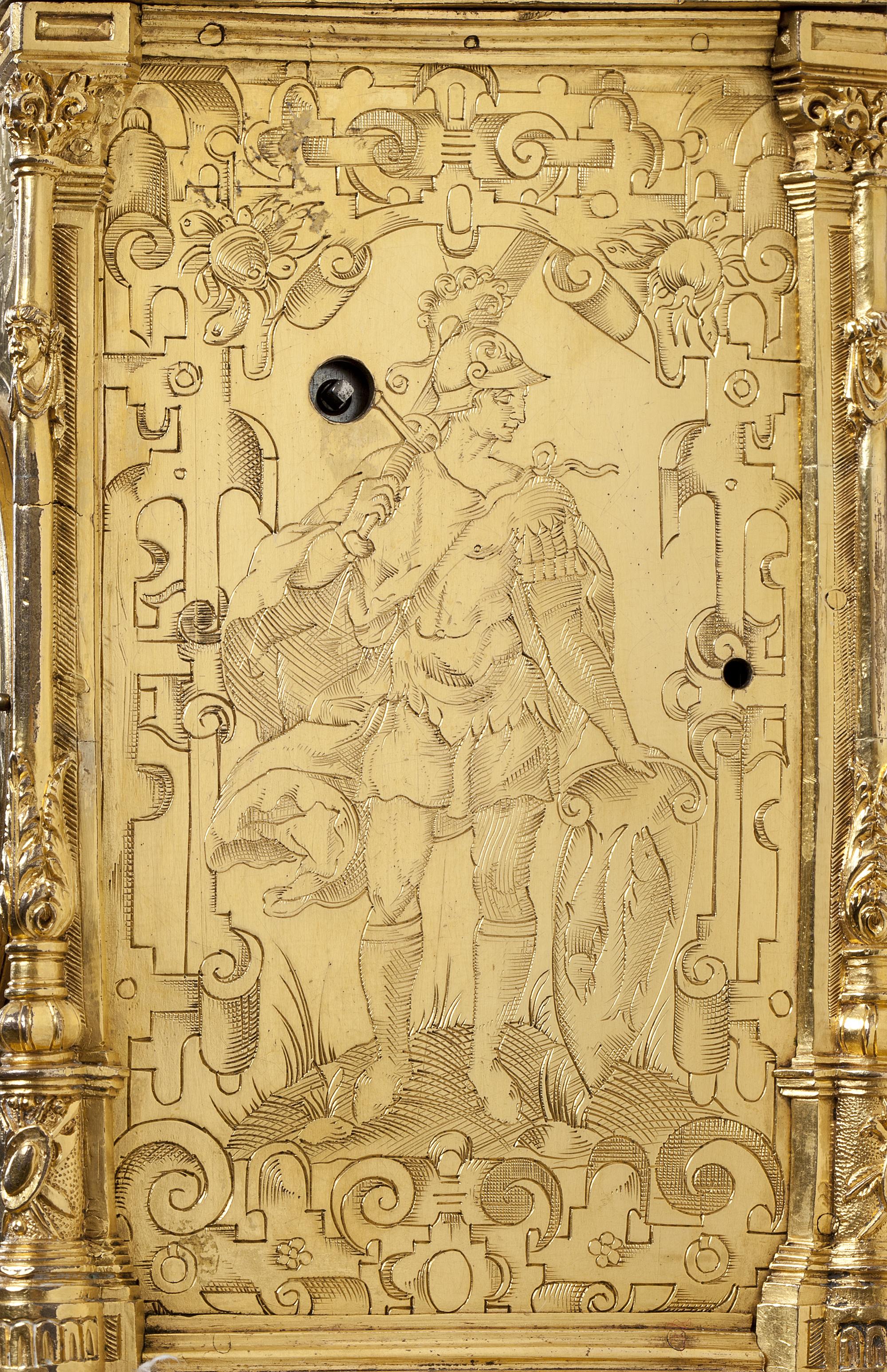 RENAISSANCE WALL CLOCK Ca. 1580 - Mentink & Roest